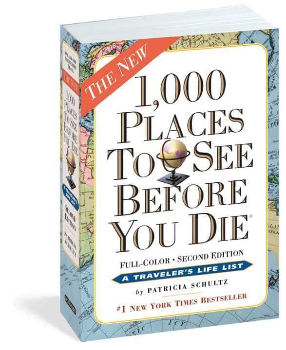 1,000 Places to See Before You Die Giveaway