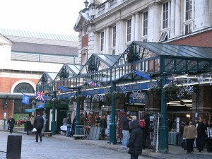 Seeing the Sights in Covent Garden