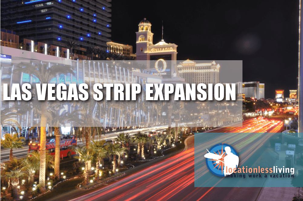 Expansion of the Las Vegas Strip