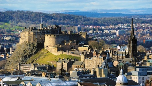 A Look at the Notable Residents and Transit Options in Edinburgh